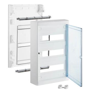 Бокс настенный Legrand Nedbox на 36 мод. прозрачная дверца (с шиной) 601248