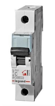 Автоматический выключатель TX3 1-полюсный 06А 404025