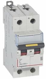 Автоматический выключатель DX3 2-полюсный 06А