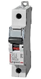 Автоматический выключатель DX3 1-полюсный 06А