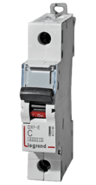 Автоматический выключатель DX3 1-полюсный 20А