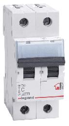 Автоматический выключатель TX3 2-полюсный 06А
