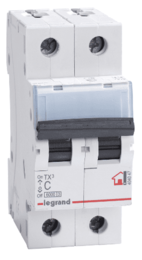 Автоматический выключатель TX3 2-полюсный 16А 404042