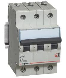 Автоматический выключатель TX3 3-полюсный 10А 404054