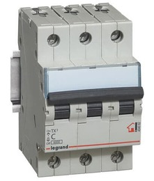 Автоматический выключатель TX3 3-полюсный 10А