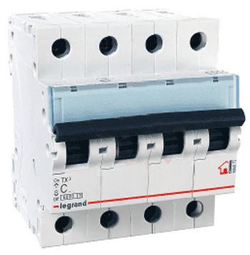 Автоматический выключатель TX3 4-полюсный 32A 404073