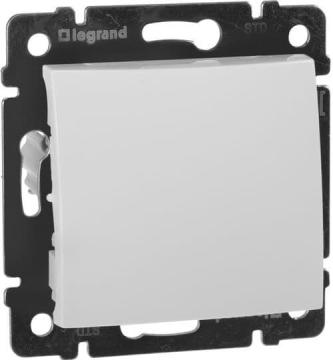 Выключатель одноклавишный Valena (белый) 774401