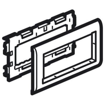 Суппорт 6 модуля Mosaic для крышки 110мм Metra 638088