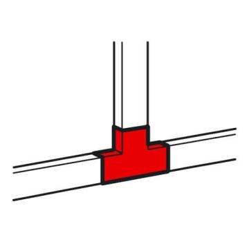 Тройник 40x16 мм Metra 638154