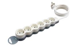 Удлинитель «Стандарт» 6 розеток с кабелем 5м 695018