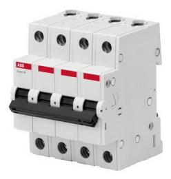 Автоматический выключатель ABB Basic M BMS414 C10 2CDS644041R0104