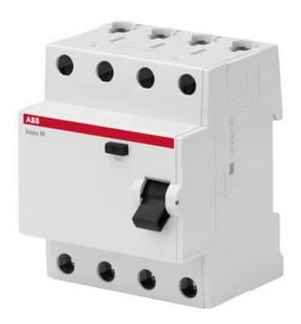 УЗО трехфазное ABB Basic M АС-25А 30mA BMF41425 2CSF604041R1250
