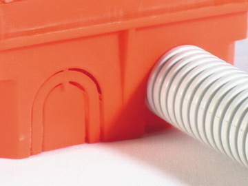 Коробка распределительная Hegel для сплошных стен 149x119x68,5мм КР1103
