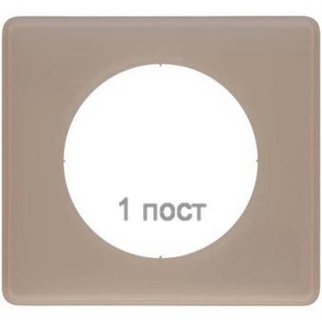 Рамка одноместная Celiane (грей перкаль) 066721