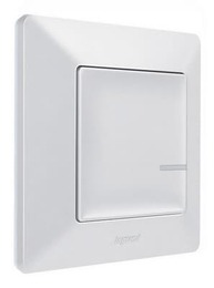 Умный беспроводной 1кл выключатель Valena Life Netatmo (белый) 752185