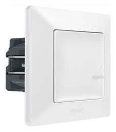 Умный проводной выключатель-светорегулятор 5-300 Вт Valena Life Netatmo (белый) 752184