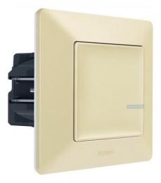 Умный проводной выключатель-светорегулятор 5-300 Вт Valena Life Netatmo (слоновая кость) 752284