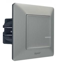 Умный проводной выключатель-светорегулятор 5-300 Вт Valena Life Netatmo (алюминий) 752384