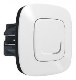 Умный проводной выключатель-светорегулятор 5-300 Вт Valena Allure Netatmo (белый) 752584