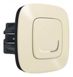 Умный проводной выключатель-светорегулятор 5-300 Вт Valena Allure Netatmo (слоновая кость) 752684