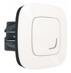 Умный проводной выключатель-светорегулятор 5-300 Вт Valena Allure Netatmo (жемчуг) 752984
