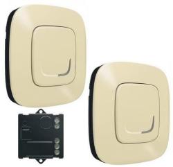 Пакет для управления освещением c 2х мест Valena Allure Netatmo (слоновая кость) 752650