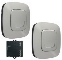 Пакет для управления освещением c 2х мест Valena Allure Netatmo (алюминий) 752750