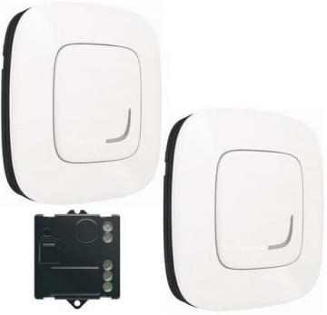 Пакет для управления освещением c 2х мест Valena Allure Netatmo (жемчуг) 752950