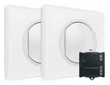 Пакет для управления освещением c 2х мест Celiane Netatmo (белый) 067777
