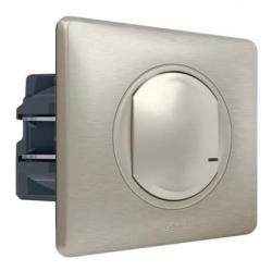Умный проводной выключатель-светорегулятор 5-300 Вт Celiane Netatmo (титан) 067771