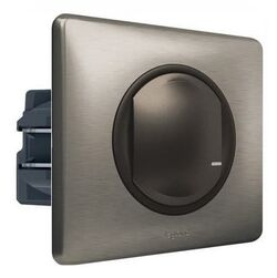 Умный проводной выключатель-светорегулятор 5-300 Вт Celiane Netatmo (графит) 064891