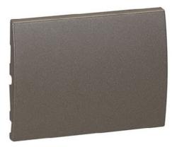 Лицевая панель Galea Life для выключателя и переключателя (темная бронза)