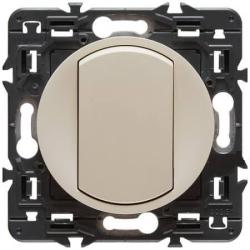 Выключатель кнопочный Celiane (слоновая кость) 067032+066200+080251