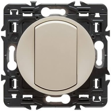 Переключатель кнопочный Celiane (слоновая кость) 067031+066200+080251