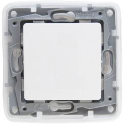 Выключатель-переключатель влагозащищенный Etika (белая) 672200