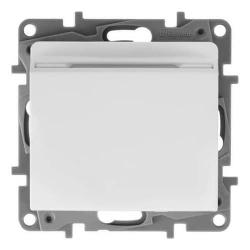 Выключатель Etika с ключом-картой (белая) 672293