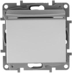 Выключатель Etika с ключом-картой (алюминий) 672493