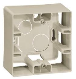 Коробка для накладного монтажа 1-ая (слоновая кость) 672520