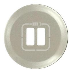 Лицевая панель Legrand Celiane для розетки USB (титан) 068556
