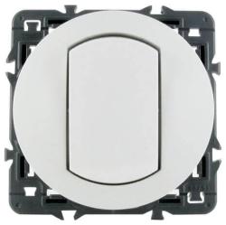Влагозащищенный выключатель-переключатель Celiane (белый)