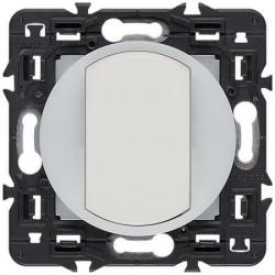 Выключатель одноклавишный с подсветкой по контуру Celiane (белый) 067002+067670+065004+080251