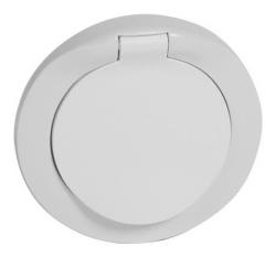 Лицевая панель Legrand Celiane влагозащитная IP44 для розетки (белая) 067841