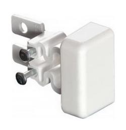 Заглушка торцевая для м/п DLPlus 32x12,5 (белая) 031203