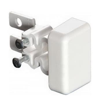 Заглушка торцевая для м/п DLPlus 40х16 (белая) 031208