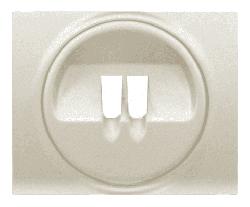 Лицевая панель Galea Life для акустической розетки (перламутр)