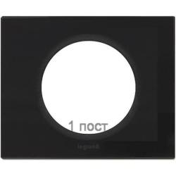 Рамка Сeliane одноместная (смальта графит) 069301