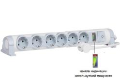 Удлинитель «Комфорт и безопасность» 6 розеток с кабелем 3м 694647