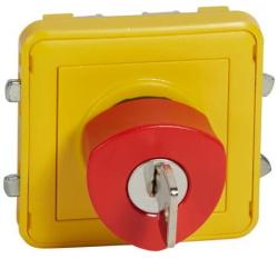 Кнопка экстренного отключения с ключом Plexo IP55 069548