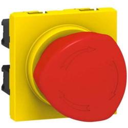 Кнопка экстренного отключения с фиксацией Plexo IP55 069549