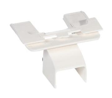 Адаптер для монтажа на торце мини-плинтуса DLPlus 40x12,5/16 031642